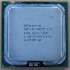 Intel Core 2 Duo E6600 processzor